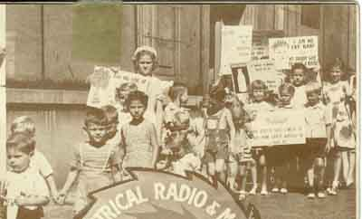 Children's picket line